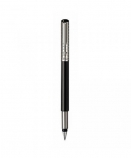 "Parker ""Vector Satin Black Stainless Steel Chiselled"" ручка перь"