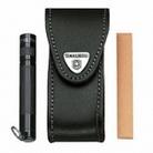 Victorinox Чехол кожаный на ремень с застежкой Velkro 4.0520.33