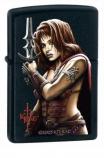 ZIPPO 24281 Kit Rae Vaelen  (Девушка с мечом)