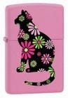 Зажигалка ZIPPO Funky Cat Pink Matte 21026 -