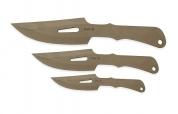 Ножи метательные C-3623 Pirat, набор из 3-х ножей