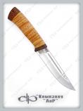"Нож ""Бекас"". Рукоять береста. АиР"