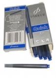 Комплект картриджей для перьевых ручек Parker, артикул S0116240