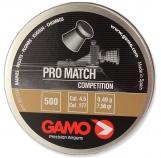 Пули для пневматики «GAMO ProMatch» 0,51гр. 4,5 мм, 500шт.