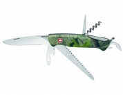 Складной нож Wenger Hardwoods 1.77.55.803 (New Ranger 55)