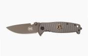 Нож складной DA15 полуавтомат (ассист) Pirat, поясная клипса