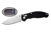 Нож складной с фиксатором K754 VN Pro, с клипсой